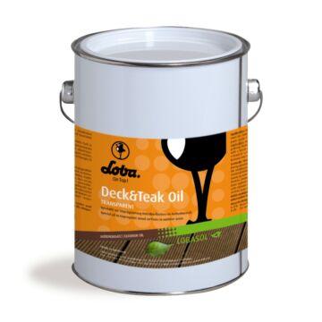 Loba Deck&TeakOil színtelen kültéri olaj, 0,75L
