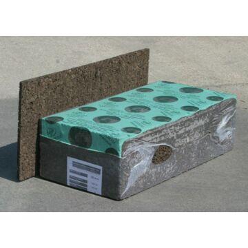 Expandált parafa nagy sűrűségű (140/160) 20x500x1000mm (7,5m2/tömb)