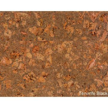 Parafa falburkolat Tenerife Black viaszolt 600x300x3mm