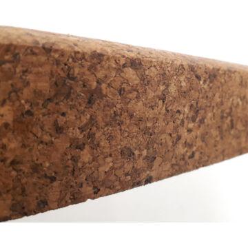 szegő parafa LD 48x8 lakkozott, tömör parafából